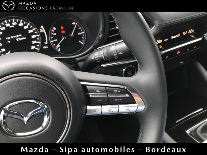 Mazda Mazda 3 2.0 Skyactiv-G M-Hybrid 122ch Sportline Evap Blanc occasion à Mérignac - photo n°12