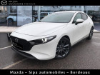 Mazda Mazda 3 2.0 Skyactiv-G M-Hybrid 122ch Sportline Evap Blanc à Mérignac 33