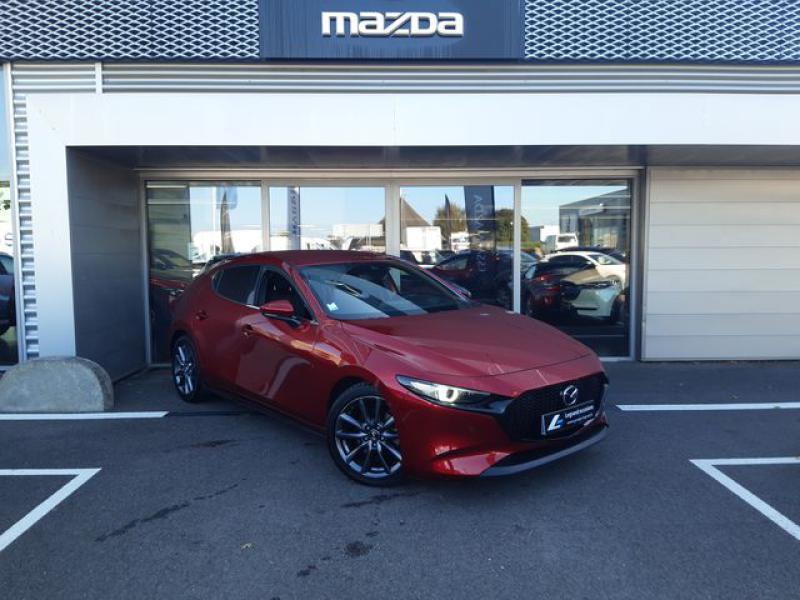Mazda Mazda 3 2.0 Skyactiv-G M-Hybrid 122ch Sportline  occasion à Cesson-Sévigné - photo n°2