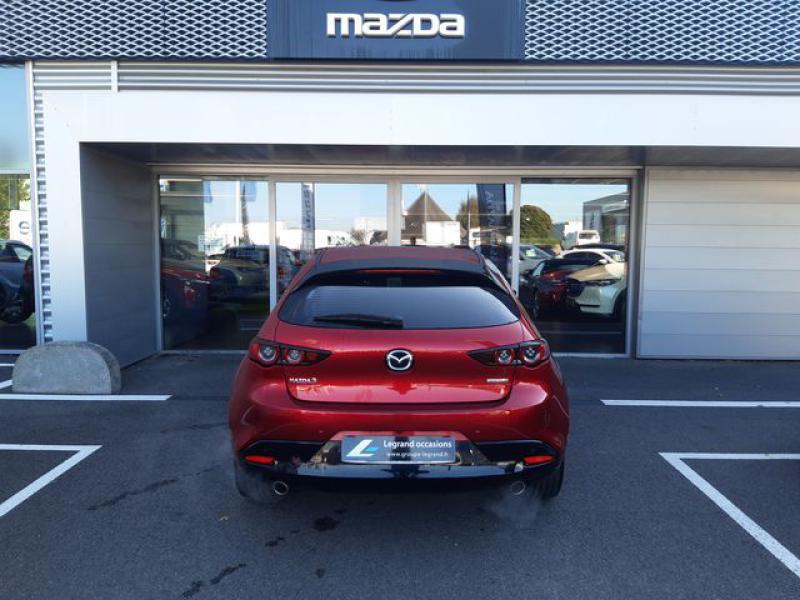 Mazda Mazda 3 2.0 Skyactiv-G M-Hybrid 122ch Sportline  occasion à Cesson-Sévigné - photo n°8
