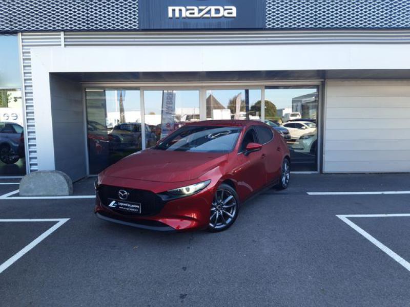 Mazda Mazda 3 2.0 Skyactiv-G M-Hybrid 122ch Sportline  occasion à Cesson-Sévigné