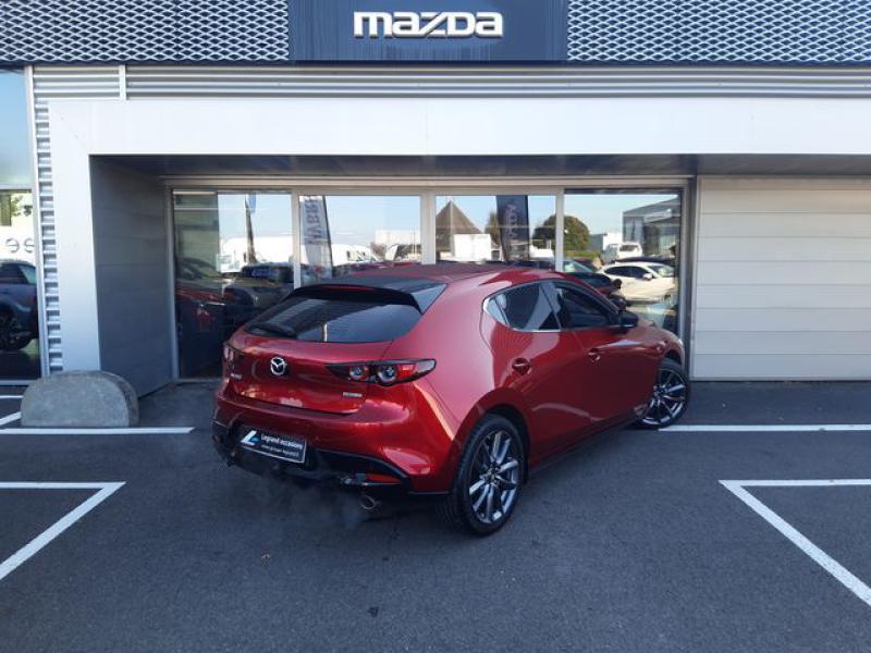 Mazda Mazda 3 2.0 Skyactiv-G M-Hybrid 122ch Sportline  occasion à Cesson-Sévigné - photo n°4