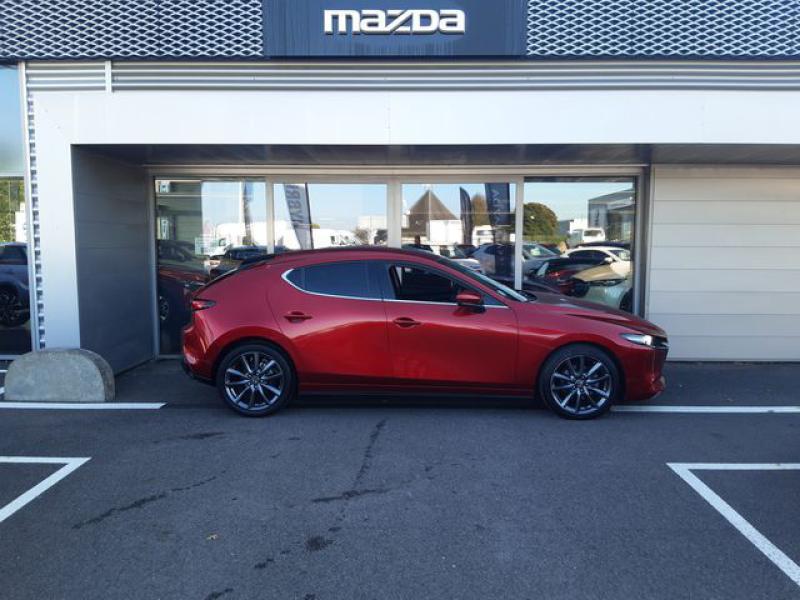 Mazda Mazda 3 2.0 Skyactiv-G M-Hybrid 122ch Sportline  occasion à Cesson-Sévigné - photo n°6