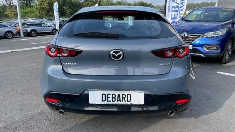 Mazda Mazda 3 2.0 SKYACTIV-G M-HYBRID 122CH STYLE BVA EVAP 6CV Gris occasion à Mées - photo n°6