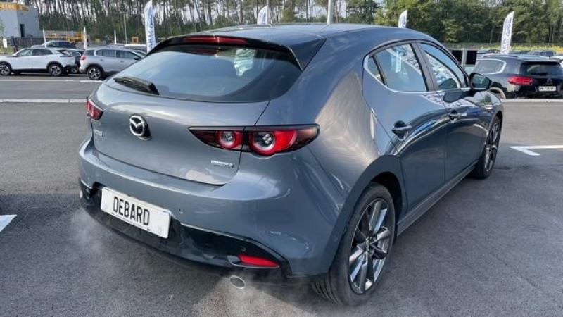 Mazda Mazda 3 2.0 SKYACTIV-G M-HYBRID 122CH STYLE BVA EVAP 6CV Gris occasion à Mées - photo n°7