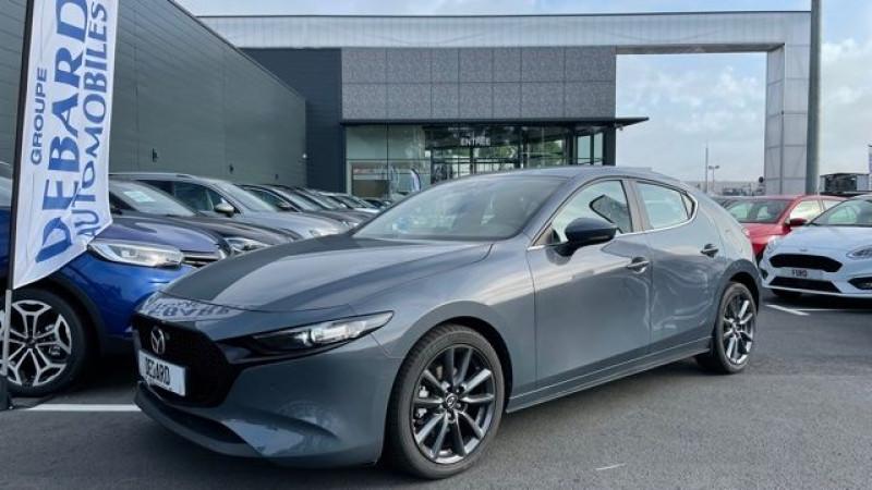 Mazda Mazda 3 2.0 SKYACTIV-G M-HYBRID 122CH STYLE BVA EVAP 6CV Gris occasion à Mées