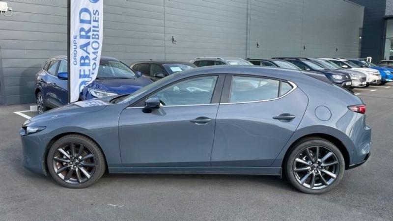 Mazda Mazda 3 2.0 SKYACTIV-G M-HYBRID 122CH STYLE BVA EVAP 6CV Gris occasion à Mées - photo n°4