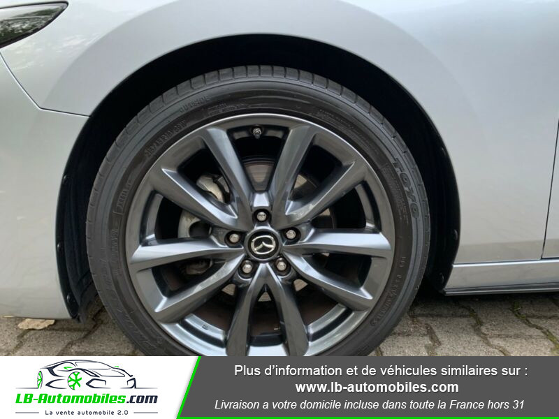 Mazda Mazda 3 2,0 skyactiv hybrid G-M inspiration Gris occasion à Beaupuy - photo n°5