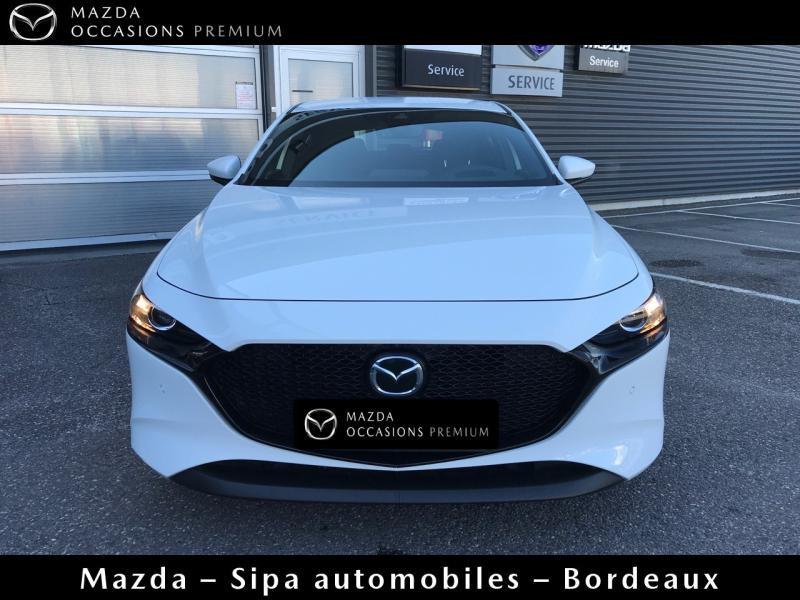 Mazda Mazda 3 2.0 Skyactiv-X M-Hybrid 180ch Business Executive Evap 10cv Blanc occasion à Mérignac - photo n°2