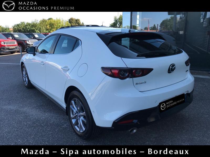 Mazda Mazda 3 2.0 Skyactiv-X M-Hybrid 180ch Business Executive Evap 10cv Blanc occasion à Mérignac - photo n°6