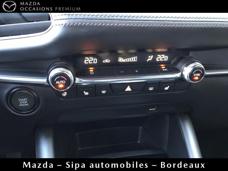 Mazda Mazda 3 2.0 Skyactiv-X M-Hybrid 180ch Business Executive Evap 10cv Blanc occasion à Mérignac - photo n°14