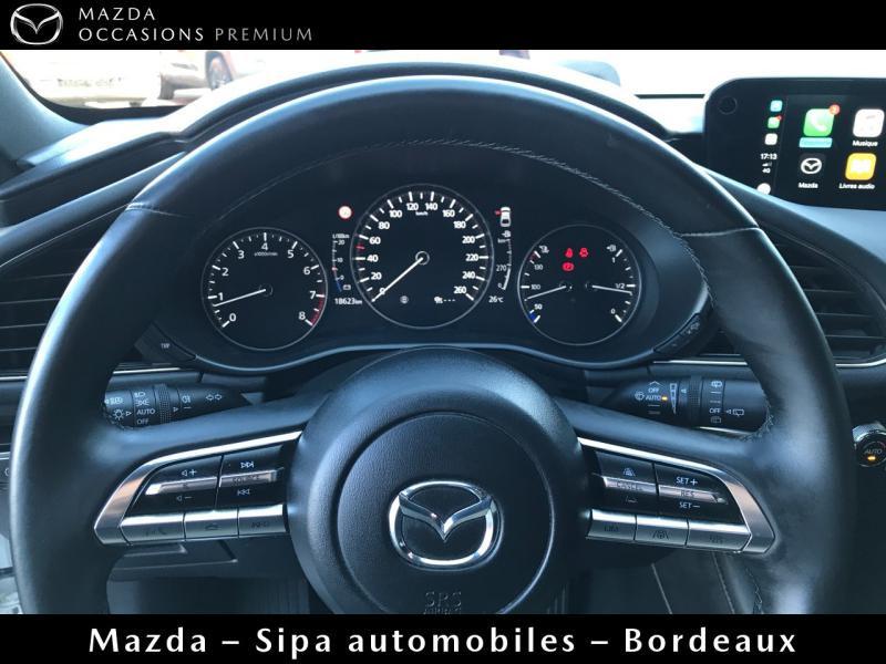 Mazda Mazda 3 2.0 Skyactiv-X M-Hybrid 180ch Business Executive Evap 10cv Blanc occasion à Mérignac - photo n°10