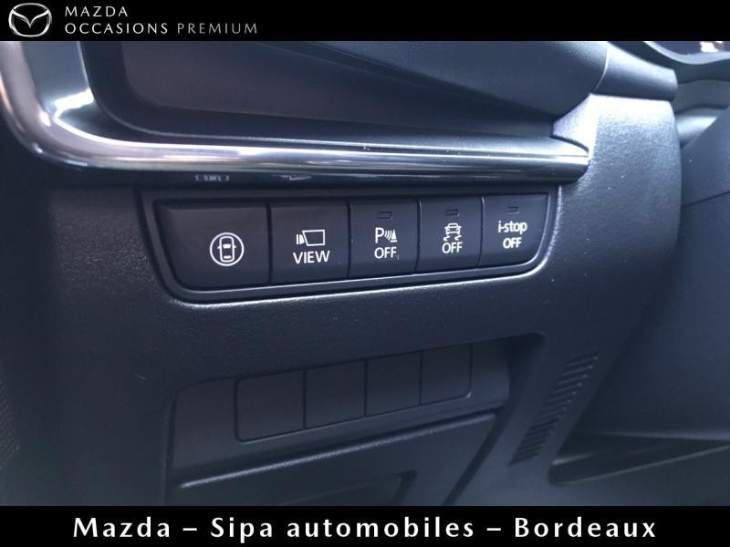 Mazda Mazda 3 2.0 Skyactiv-X M-Hybrid 180ch Business Executive Evap 10cv Blanc occasion à Mérignac - photo n°12