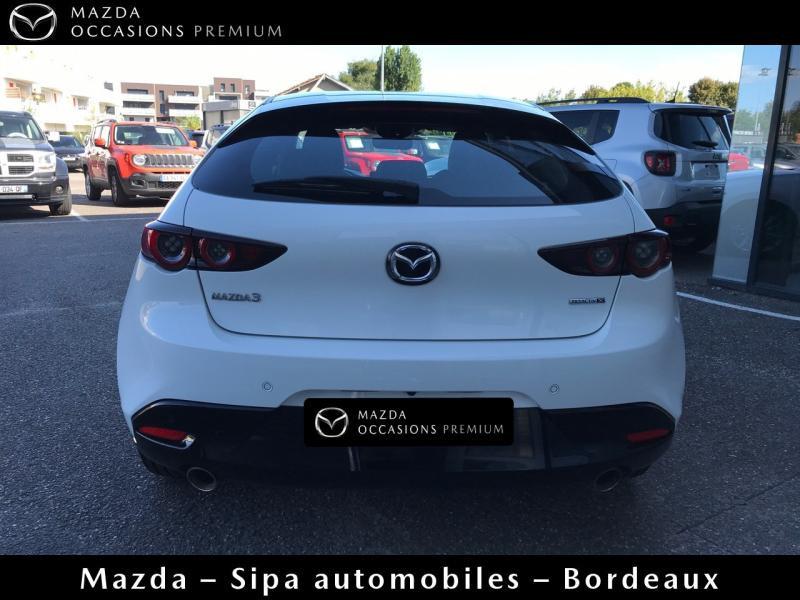 Mazda Mazda 3 2.0 Skyactiv-X M-Hybrid 180ch Business Executive Evap 10cv Blanc occasion à Mérignac - photo n°3