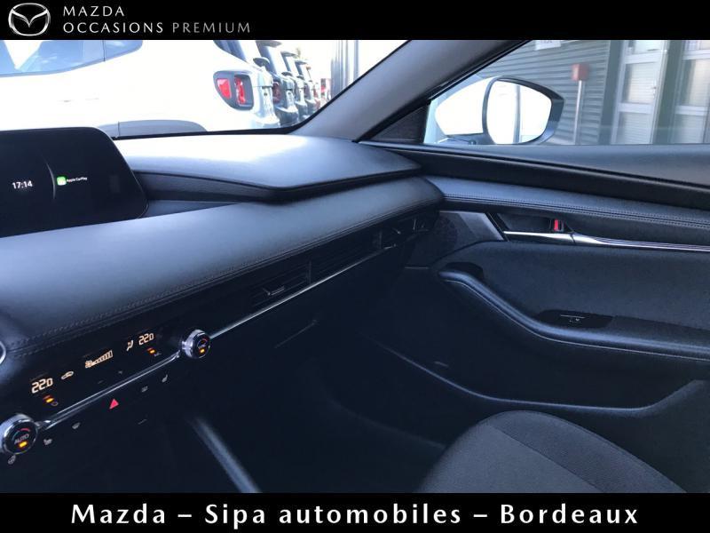 Mazda Mazda 3 2.0 Skyactiv-X M-Hybrid 180ch Business Executive Evap 10cv Blanc occasion à Mérignac - photo n°19