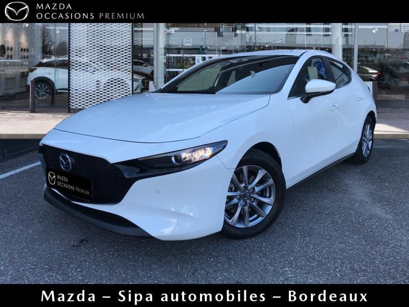 Mazda Mazda 3 2.0 Skyactiv-X M-Hybrid 180ch Business Executive Evap 10cv Blanc occasion à Mérignac