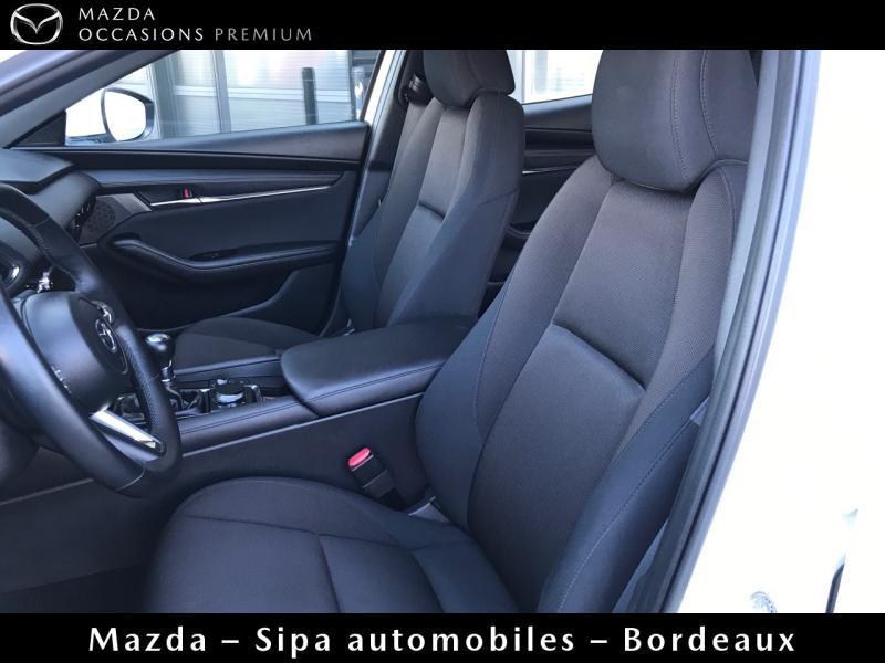 Mazda Mazda 3 2.0 Skyactiv-X M-Hybrid 180ch Business Executive Evap 10cv Blanc occasion à Mérignac - photo n°8