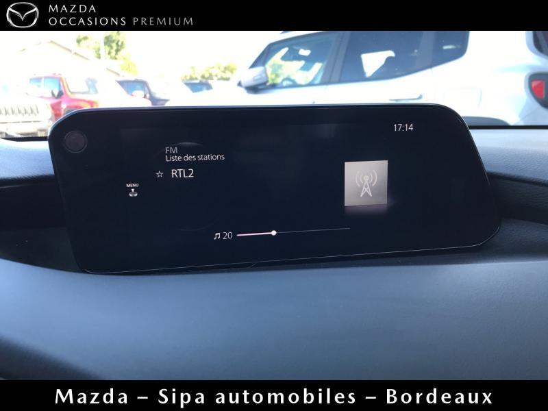 Mazda Mazda 3 2.0 Skyactiv-X M-Hybrid 180ch Business Executive Evap 10cv Blanc occasion à Mérignac - photo n°16