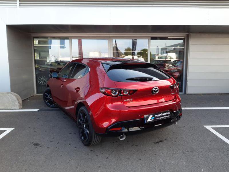 Mazda Mazda 3 2.0 Skyactiv-X M-Hybrid 180ch Exclusive Evap 10cv  occasion à Saint-Brieuc - photo n°7