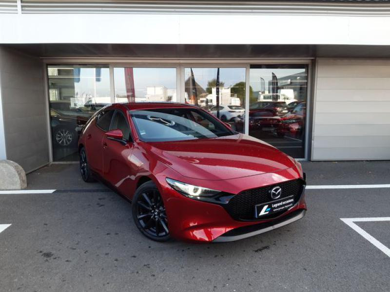 Mazda Mazda 3 2.0 Skyactiv-X M-Hybrid 180ch Exclusive Evap 10cv  occasion à Saint-Brieuc - photo n°3