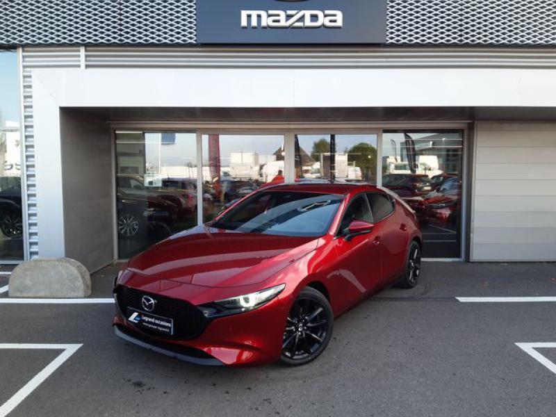 Mazda Mazda 3 2.0 Skyactiv-X M-Hybrid 180ch Exclusive Evap 10cv  occasion à Saint-Brieuc
