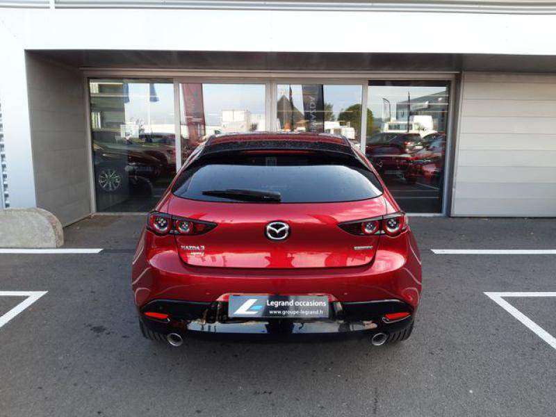 Mazda Mazda 3 2.0 Skyactiv-X M-Hybrid 180ch Exclusive Evap 10cv  occasion à Saint-Brieuc - photo n°6