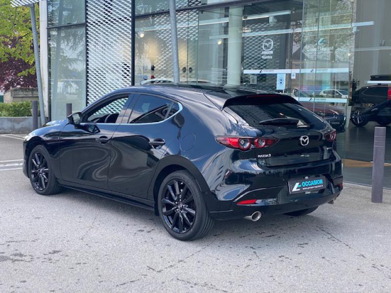 Mazda Mazda 3 2.0 Skyactiv-X M-Hybrid 180ch Exclusive Evap 10cv Noir occasion à Saint-Herblain - photo n°6