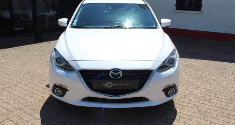 Mazda Mazda 3 III 2.0 SKYACTIV-G 120 Dynamique 5p Blanc occasion à COIGNIERES - photo n°2