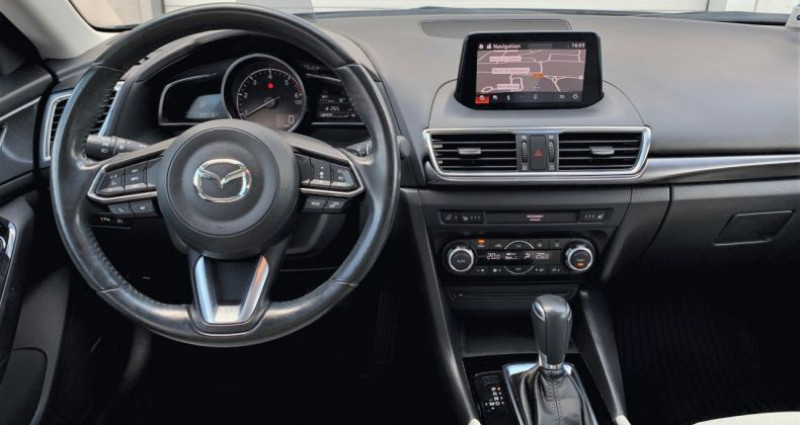 Mazda Mazda 3 III 2.2 SKYACTIV-D 150 Sélection BVA Gris occasion à EPAGNY - photo n°4