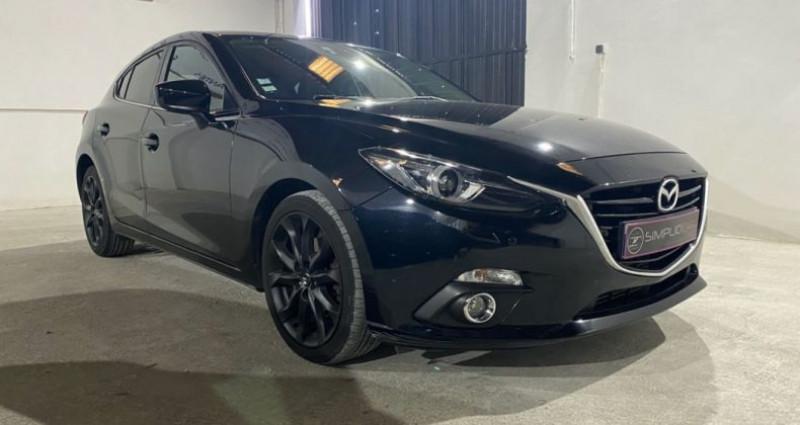 Mazda Mazda 3 MAZDA3 2.2L SKYACTIV-D 150CH DYNAMIQUE A Noir occasion à MONTPELLIER