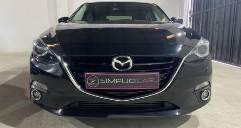 Mazda Mazda 3 MAZDA3 2.2L SKYACTIV-D 150CH DYNAMIQUE A Noir occasion à MONTPELLIER - photo n°5