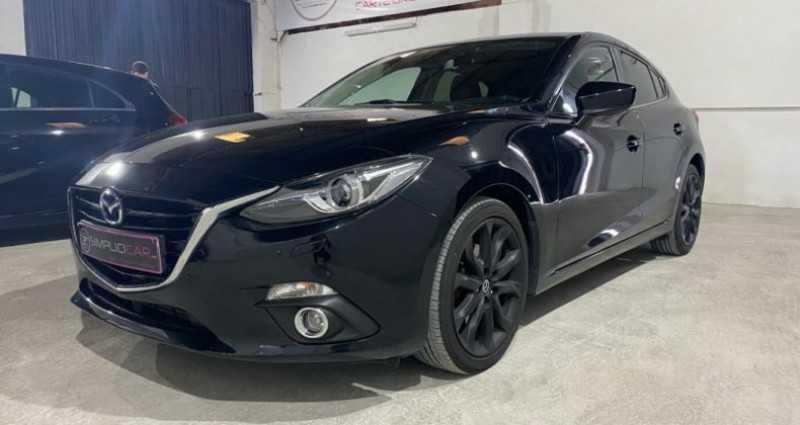 Mazda Mazda 3 MAZDA3 2.2L SKYACTIV-D 150CH DYNAMIQUE A Noir occasion à MONTPELLIER - photo n°6