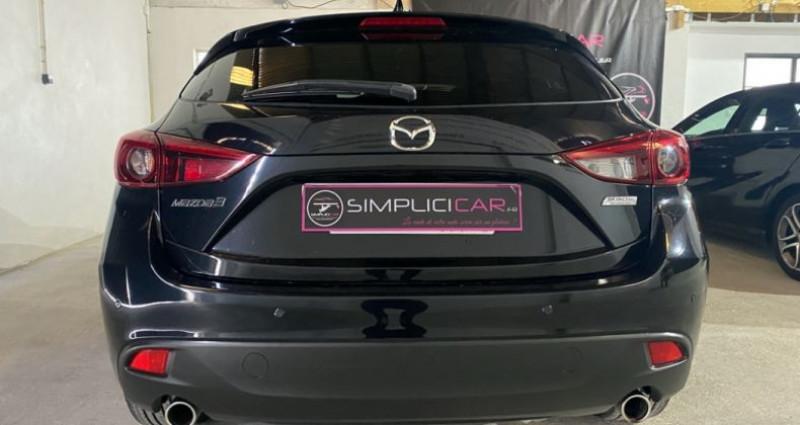Mazda Mazda 3 MAZDA3 2.2L SKYACTIV-D 150CH DYNAMIQUE A Noir occasion à MONTPELLIER - photo n°7