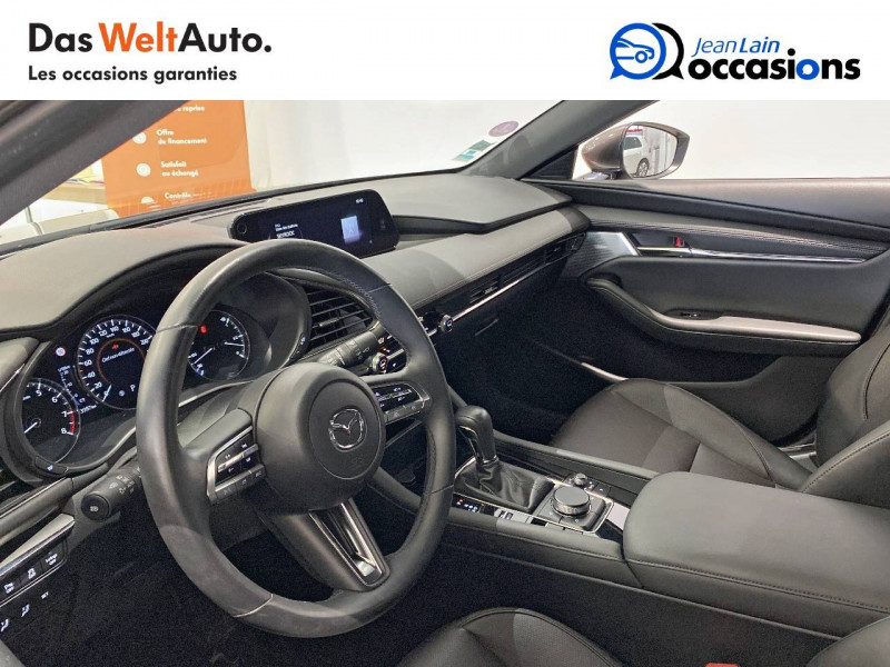 Mazda Mazda 3 Mazda3 5 portes 2.0L SKYACTIV-G M Hybrid 122 ch BVA6 Sportli Gris occasion à Albertville - photo n°11