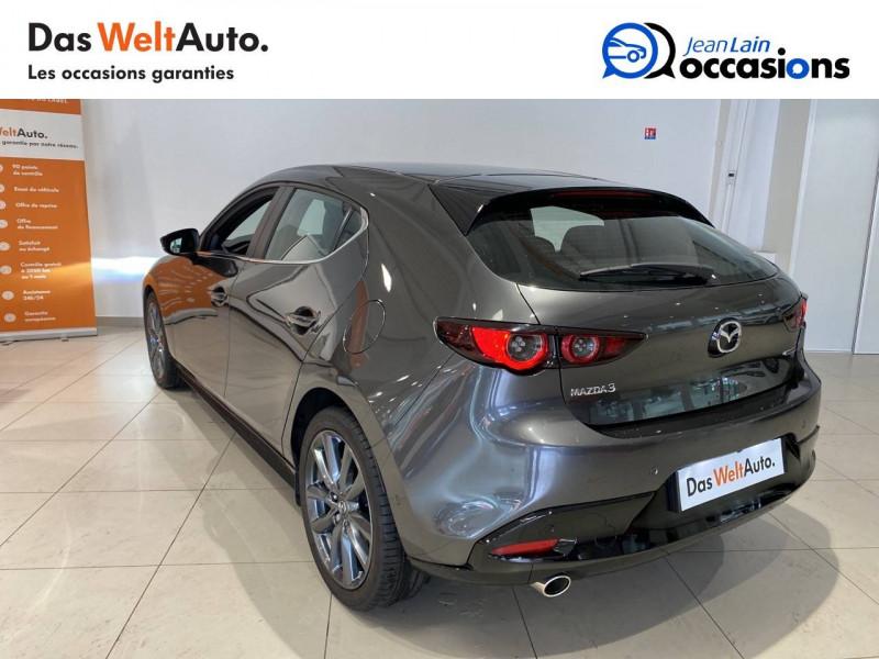 Mazda Mazda 3 Mazda3 5 portes 2.0L SKYACTIV-G M Hybrid 122 ch BVA6 Sportli Gris occasion à Albertville - photo n°7