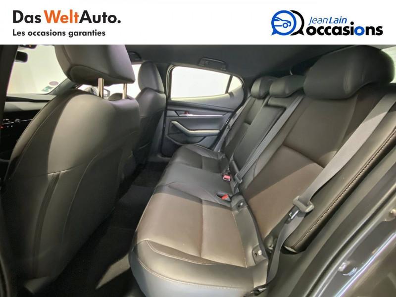 Mazda Mazda 3 Mazda3 5 portes 2.0L SKYACTIV-G M Hybrid 122 ch BVA6 Sportli Gris occasion à Albertville - photo n°17
