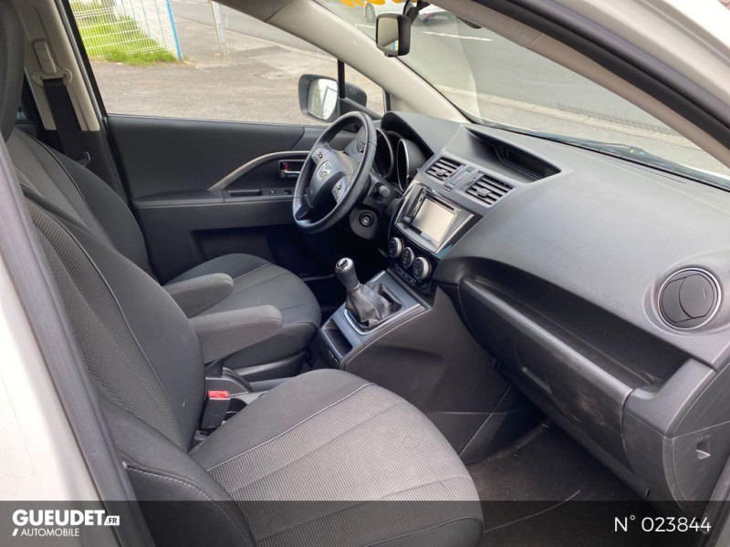 Mazda Mazda 5 1.6 MZ-CD 115ch Signature Blanc occasion à Saint-Quentin - photo n°4