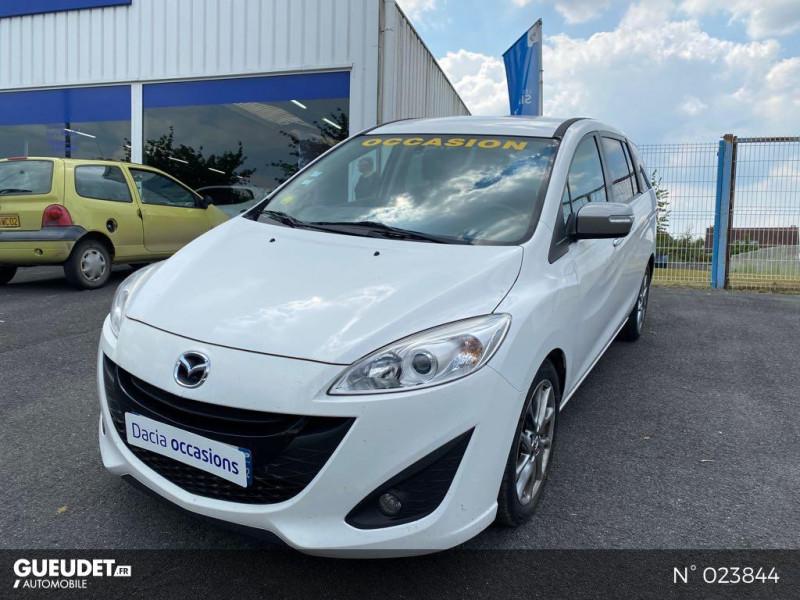 Mazda Mazda 5 1.6 MZ-CD 115ch Signature Blanc occasion à Saint-Quentin