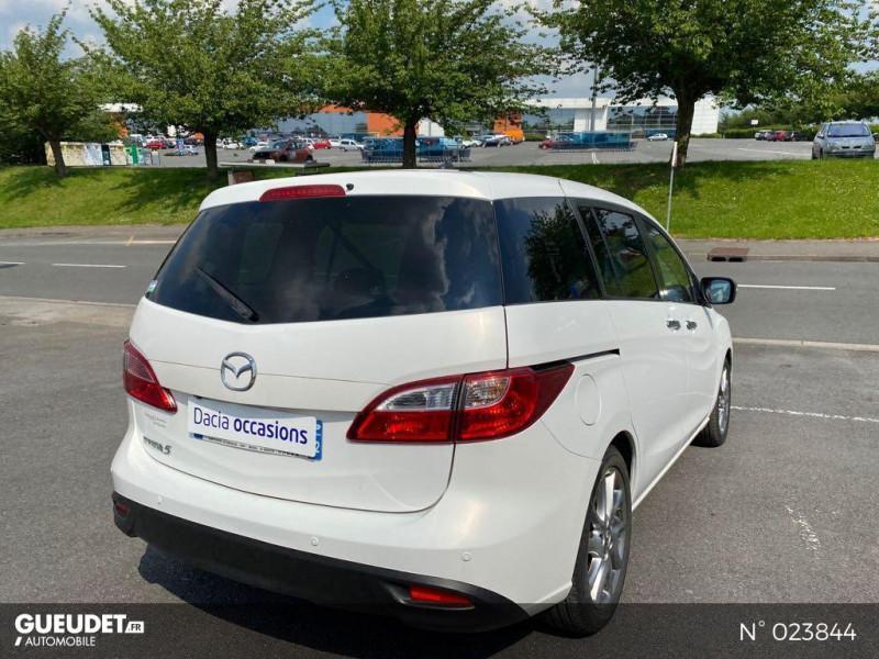 Mazda Mazda 5 1.6 MZ-CD 115ch Signature Blanc occasion à Saint-Quentin - photo n°6