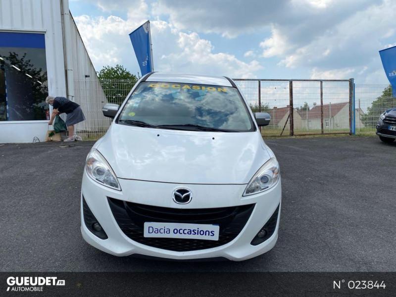 Mazda Mazda 5 1.6 MZ-CD 115ch Signature Blanc occasion à Saint-Quentin - photo n°2