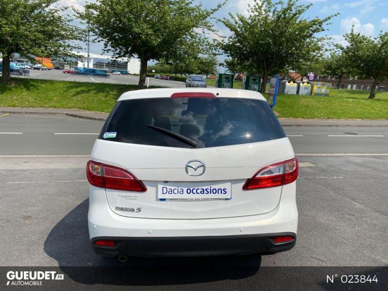 Mazda Mazda 5 1.6 MZ-CD 115ch Signature Blanc occasion à Saint-Quentin - photo n°3