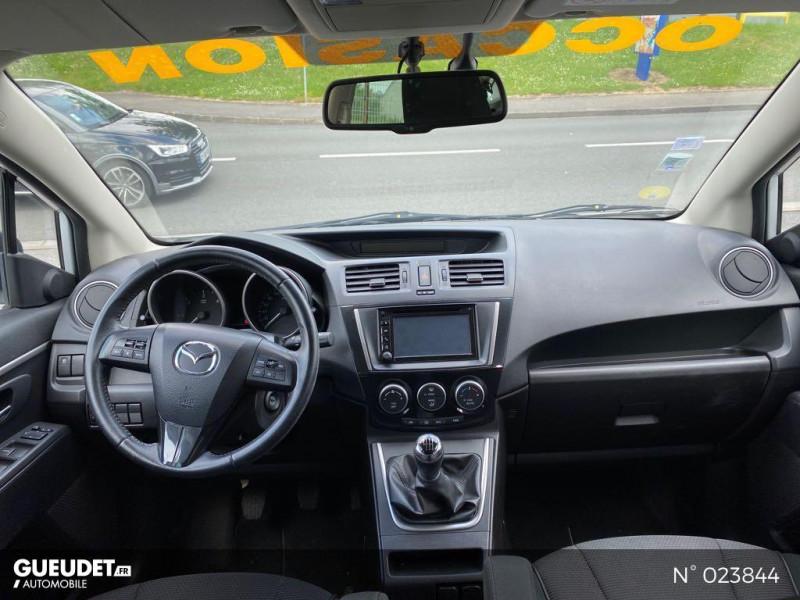 Mazda Mazda 5 1.6 MZ-CD 115ch Signature Blanc occasion à Saint-Quentin - photo n°10