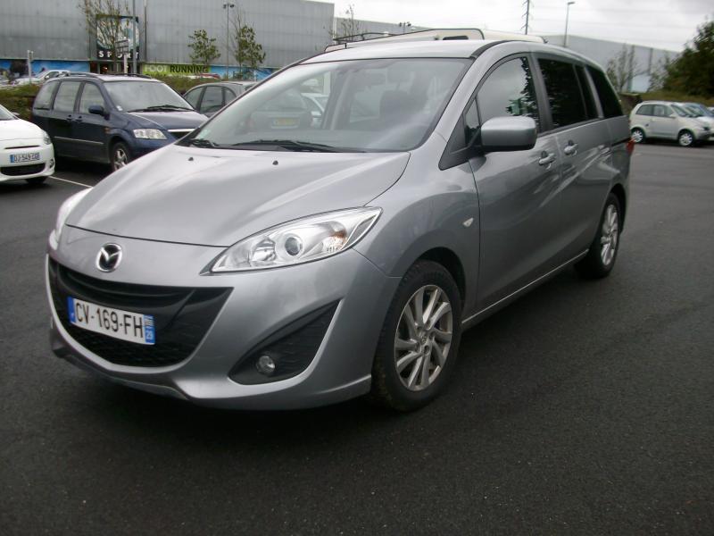 Mazda Mazda 5 elegance 115 mz cd  occasion à Brest