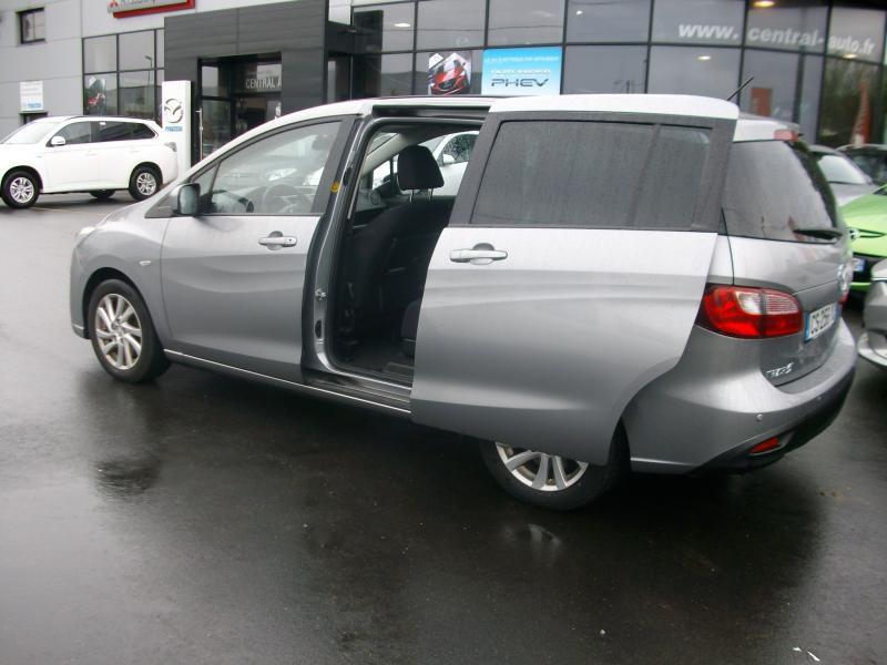 Mazda Mazda 5 ELEGANCE MZ CD 115 Gris occasion à Brest - photo n°2