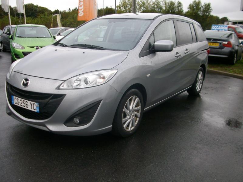 Mazda Mazda 5 ELEGANCE MZ CD 115 Gris occasion à Brest