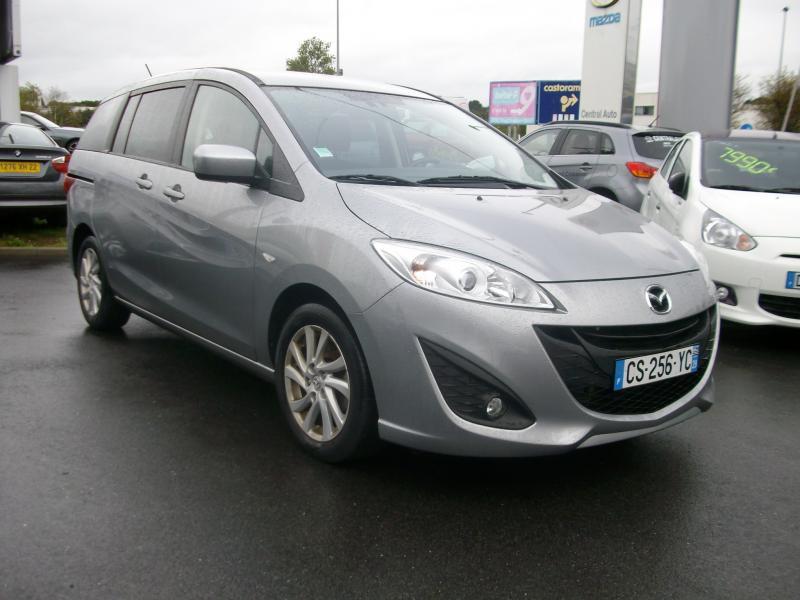 Mazda Mazda 5 ELEGANCE MZ CD 115 Gris occasion à Brest - photo n°4