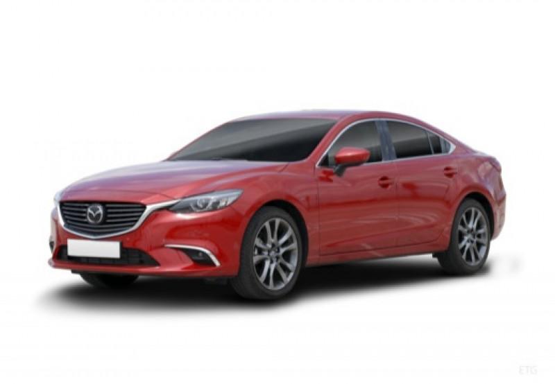 Mazda Mazda 6 2.2 SKYACTIV-D 175 Sélection BVA Noir occasion à LA QUEUE-EN-BRIE