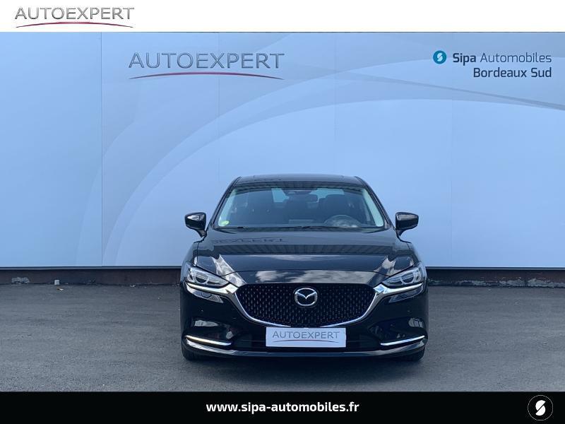 Mazda Mazda 6 2.2 SKYACTIV-D 184ch Sélection BVA Noir occasion à Villenave-d'Ornon - photo n°8