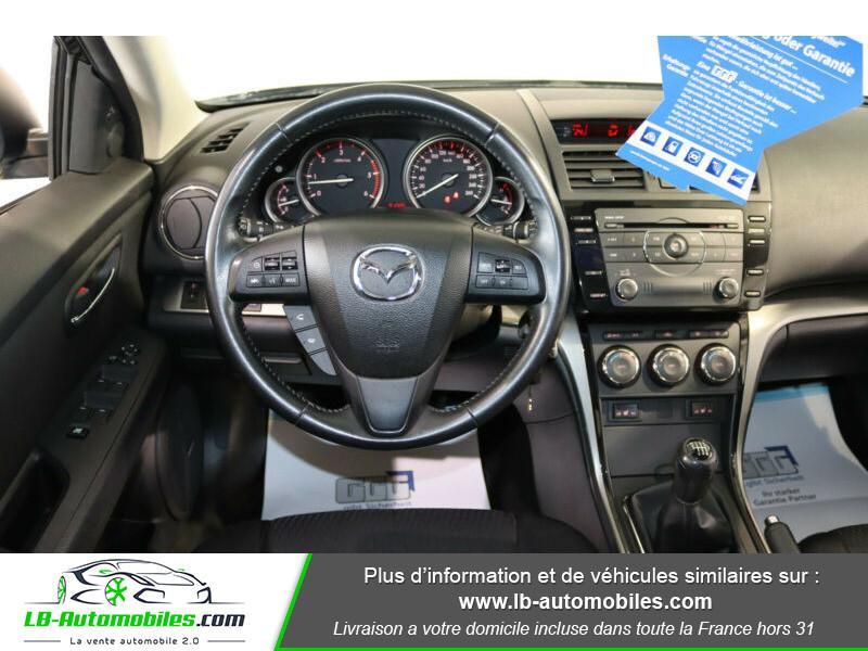 Mazda Mazda 6 2.2L MZR - CD 163 Noir occasion à Beaupuy - photo n°6