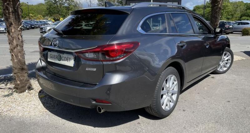 Mazda Mazda 6 FW 2.2 SKYACTIV-D 150 DYNAMIQUE BVA Gris occasion à GUER - photo n°3